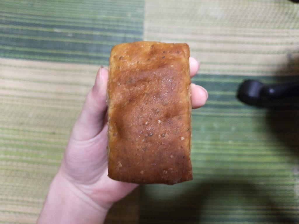 中身のパンの写真